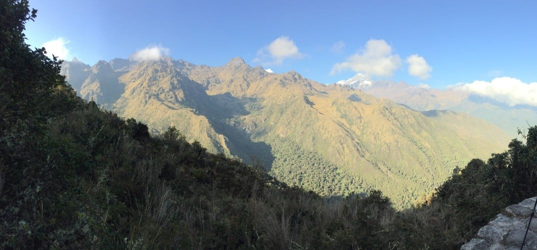 Andes Mountains Inca Trail