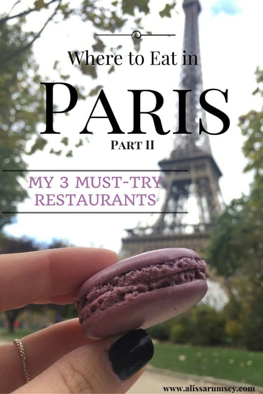 Paris Food Part II