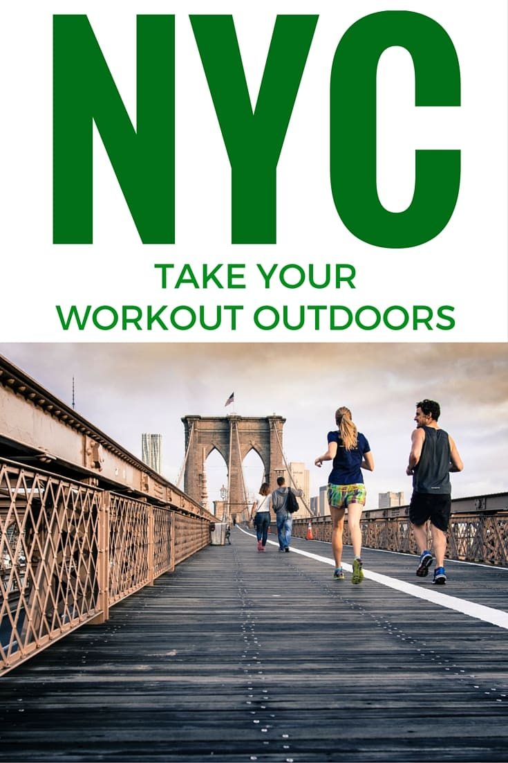 NYC Take Your Workout Outdoors