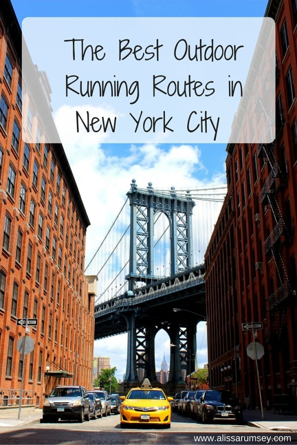 The Best Outdoor Running Routes In New York City