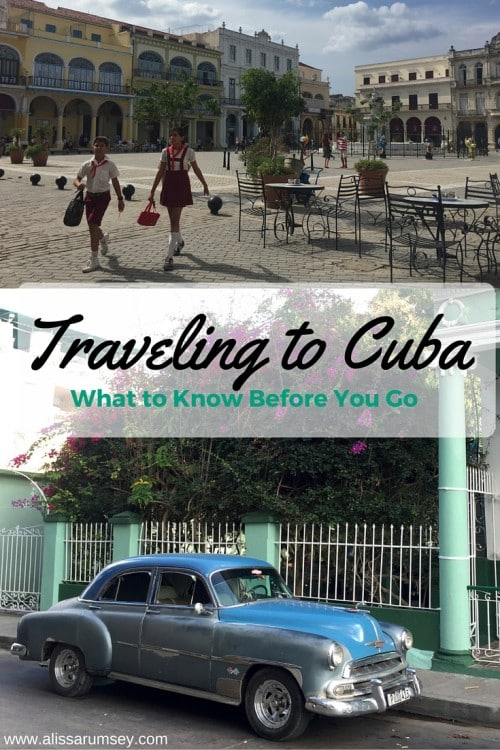 Traveling to Cuba