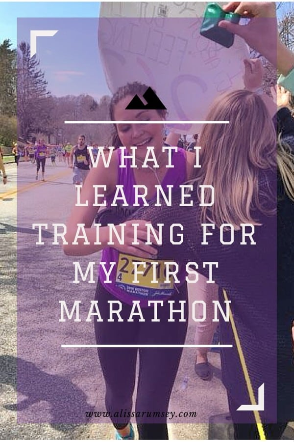 What I learned Training for My First Marathon