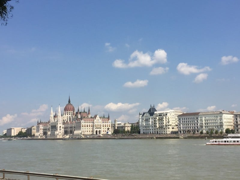 Budapest Travel Guide View of Pest