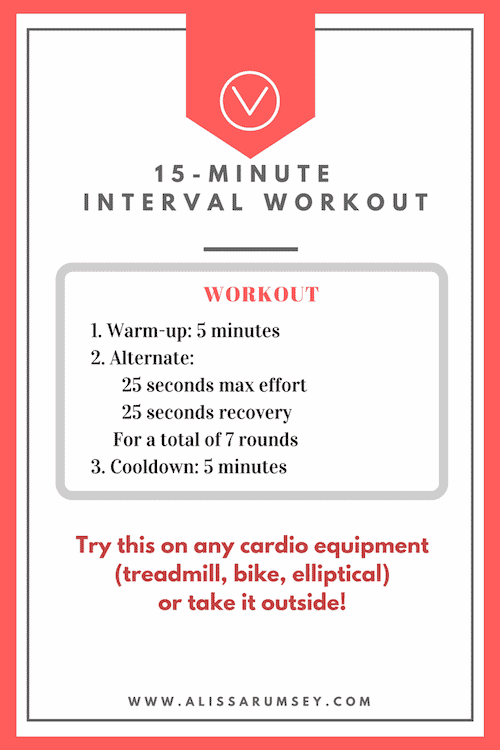 15-Minute Interval Workout