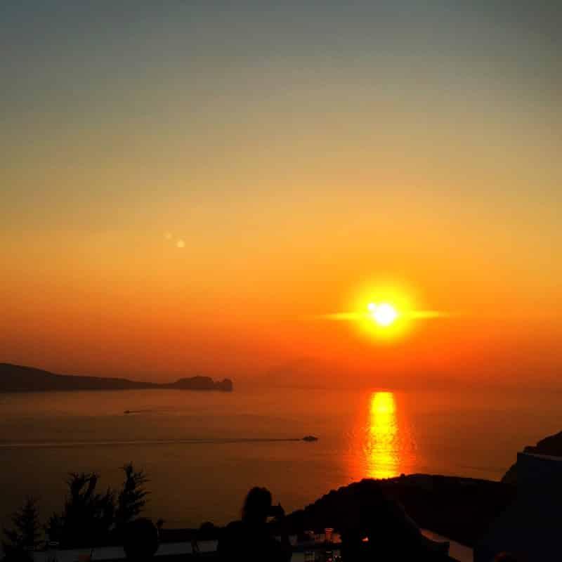 Sunset Milos Greece