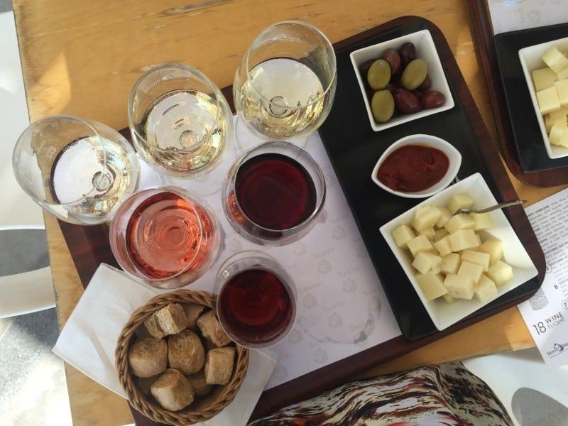 Santos Winery Santorini Greece