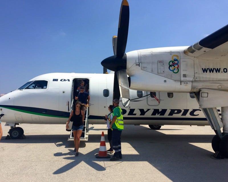 Milos Greece Airplane