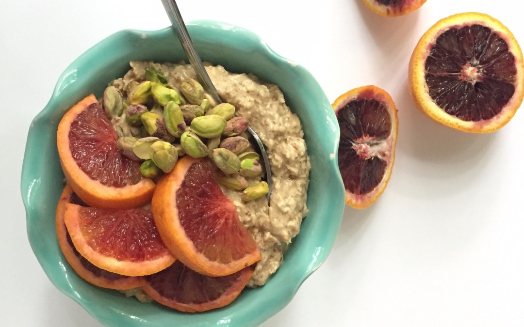 Pistachio and Blood Orange Muesli Recipe