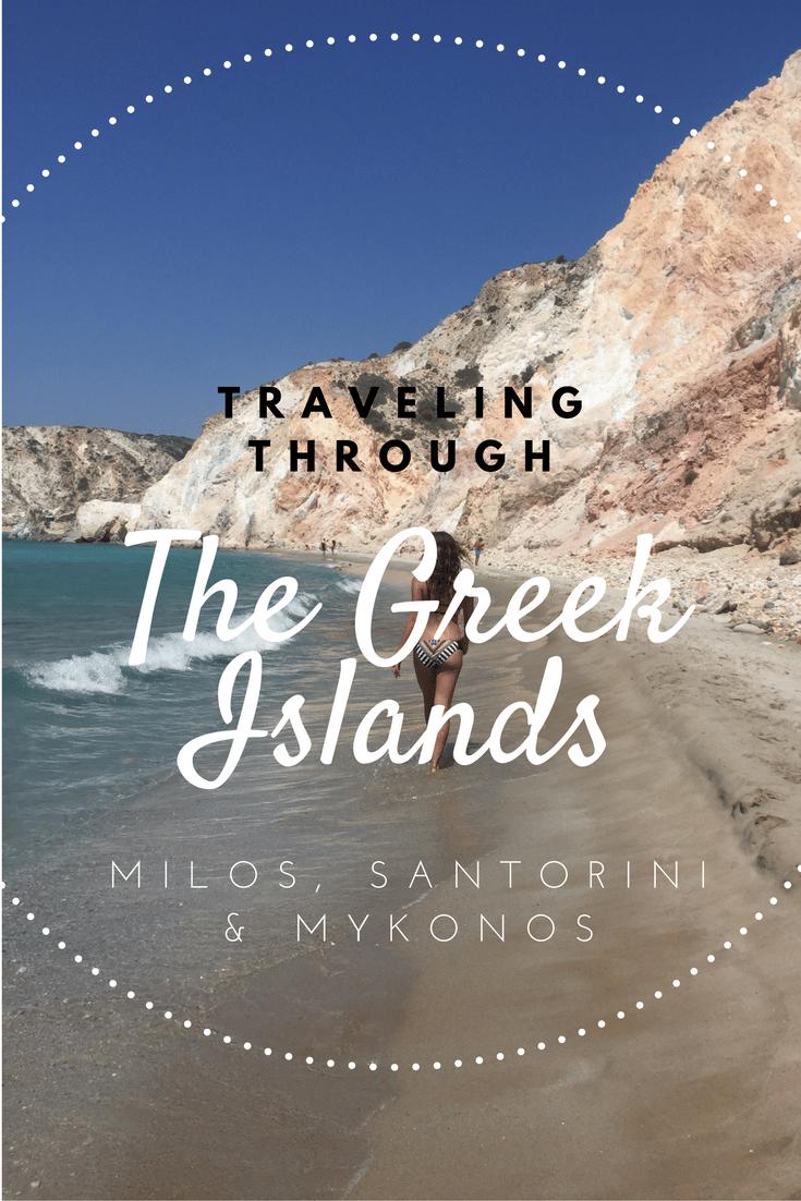 Traveling Greek Islands
