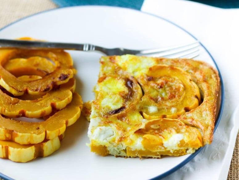 squash-egg-bake-vegetarian
