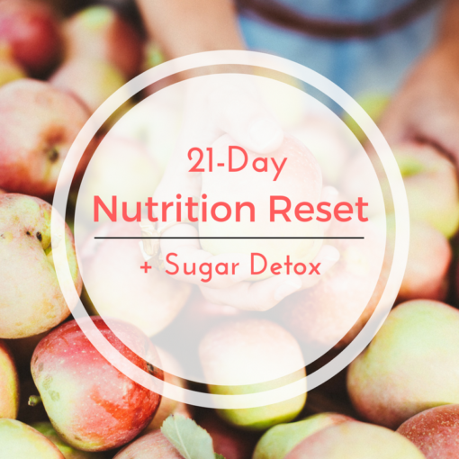 Nutrition reset sugar detox