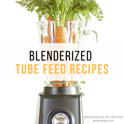 Blenderized Food Recipes