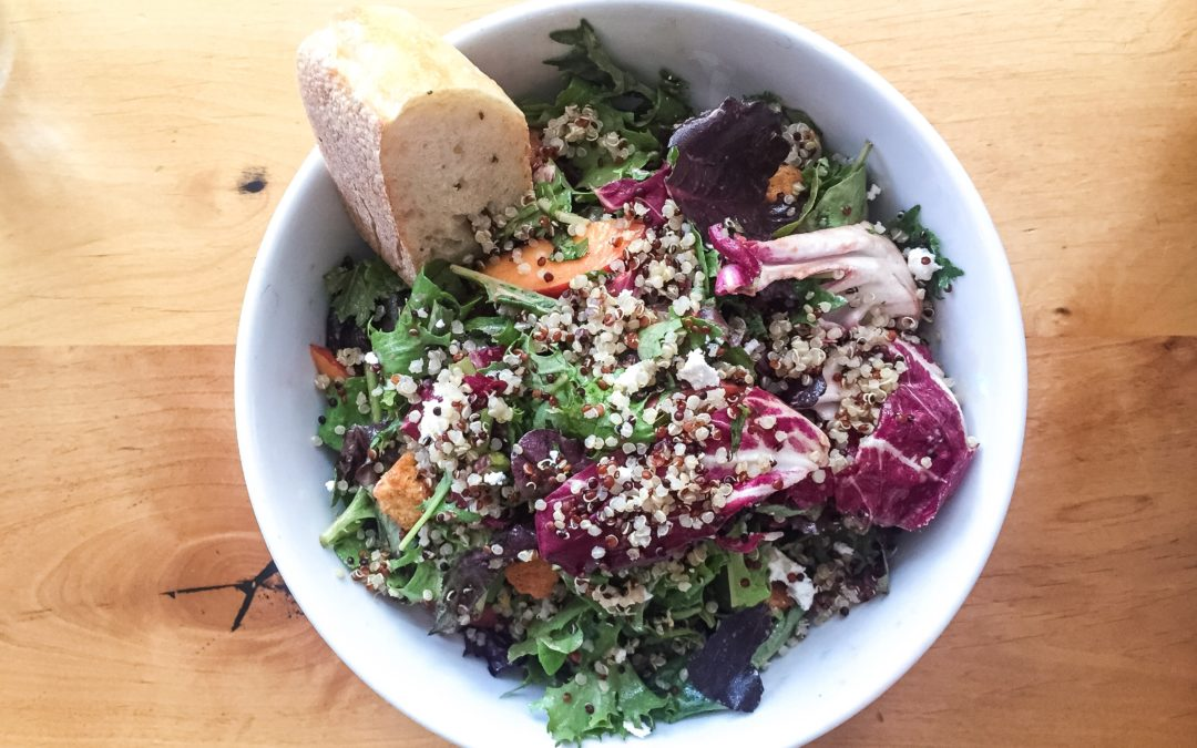 Healthy Lunch Restaurants in NYC (and beyond)