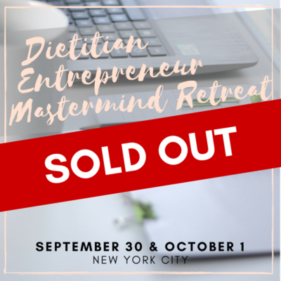 SOLD OUT Mastermind retreat