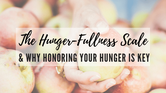 Honoring Your Hunger
