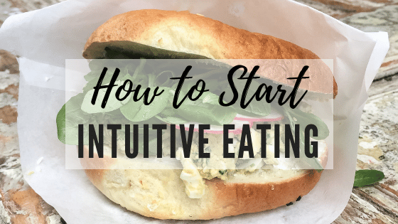 How to Get Started with Intuitive Eating