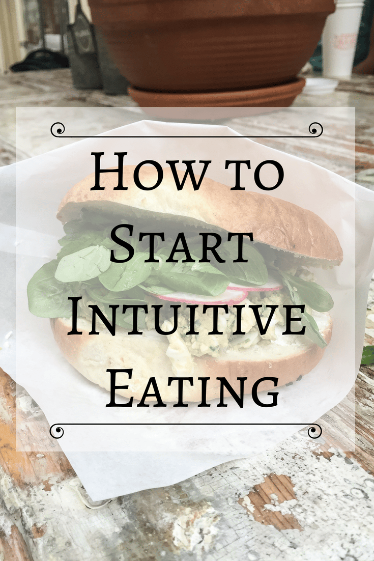 how to start intuitive eating
