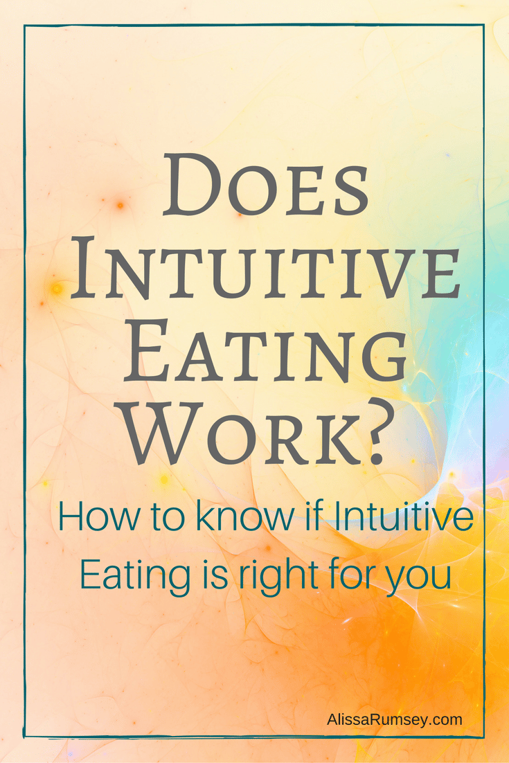 Does intuitive eating work