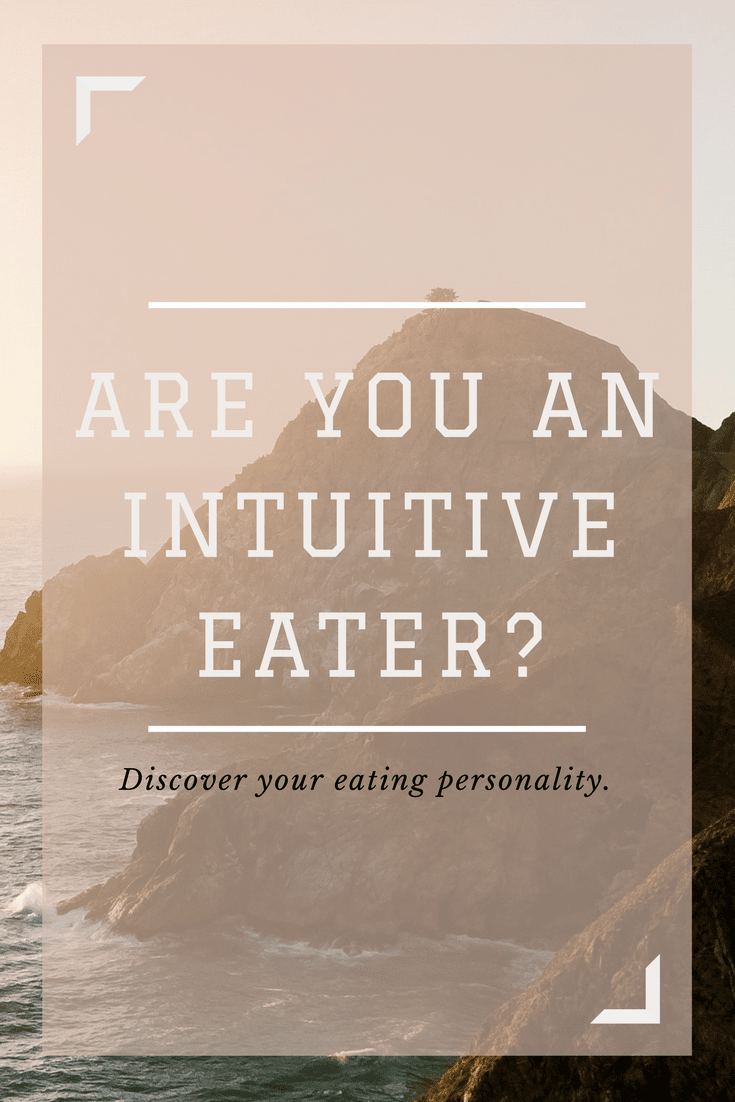 are you an intuitive eater