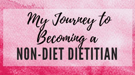 non diet dietitian