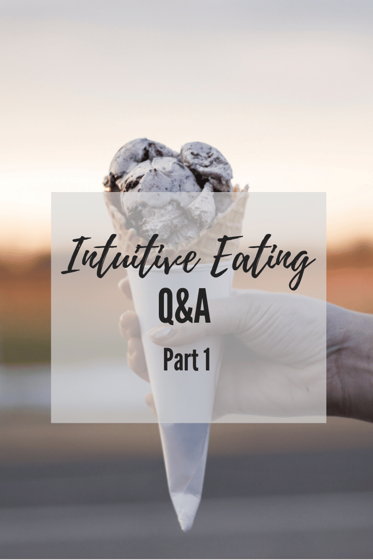 Intuitive Eating Questions