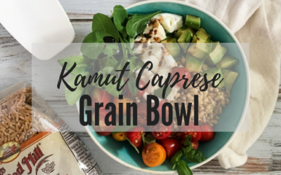 Simple Caprese Grain Bowl Recipe
