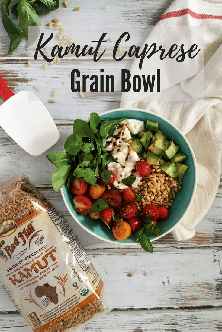 Simple grain bowl recipe
