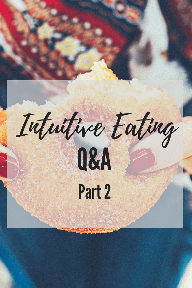Intuitive Eating Questions 2