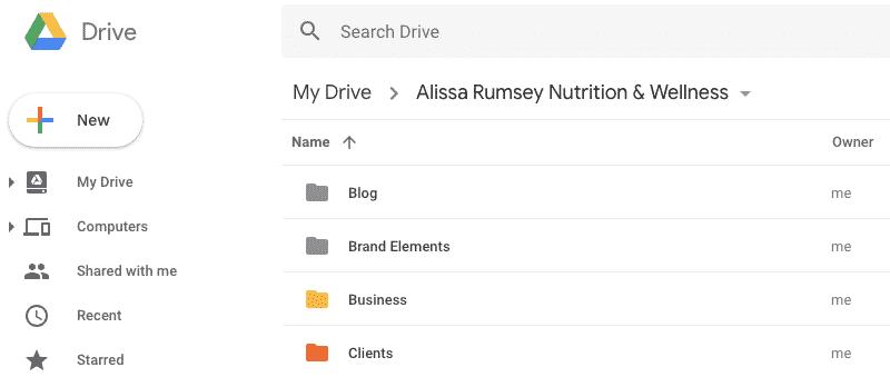 google drive productivity