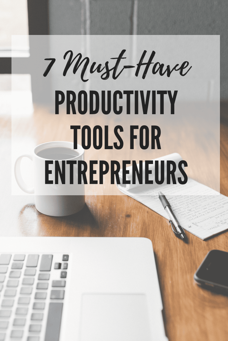 productivity tools for entrepreneurs