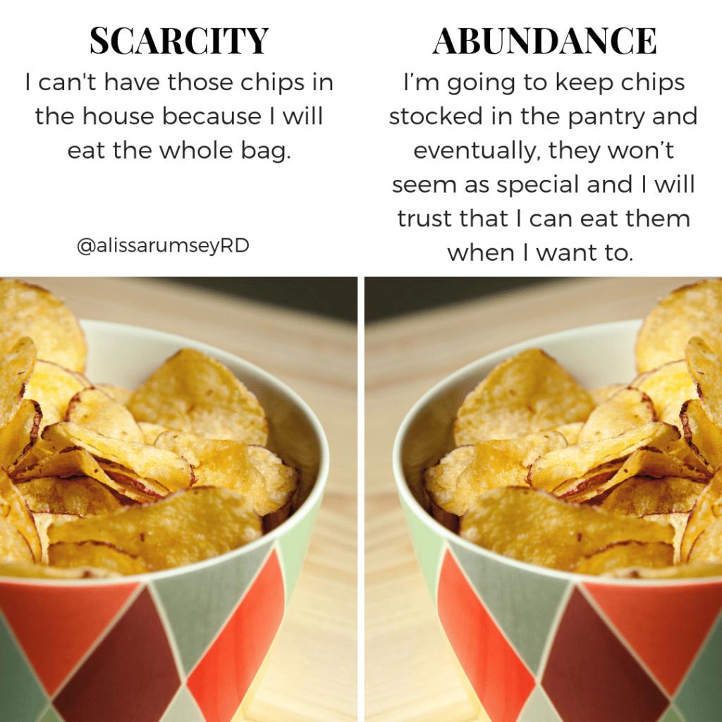 Scarcity v. Abundance