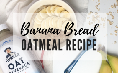 Banana Bread Oatmeal Recipe