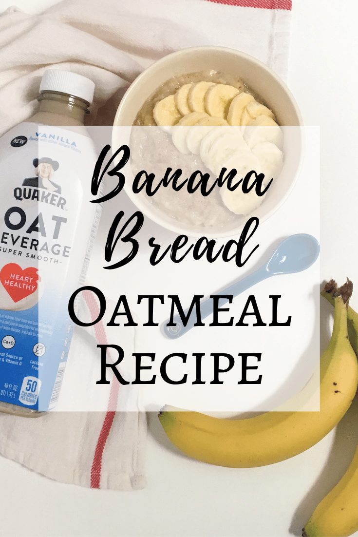 Banana bread stove top oatmeal