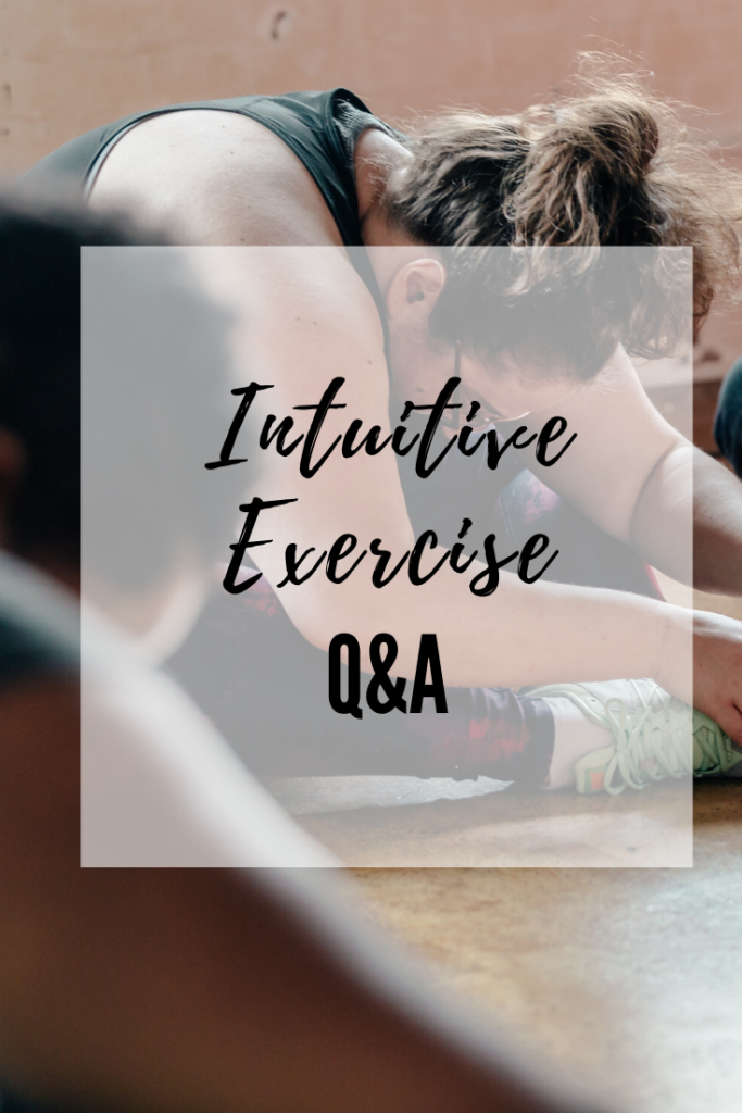 intuitive movement common questions