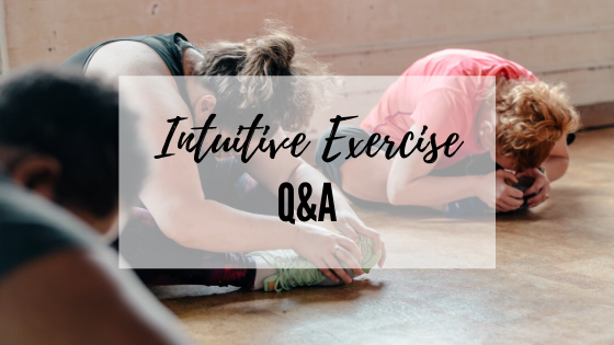 Intuitive Exercise Q&A
