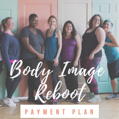 Body Image Reboot payment plan - Website