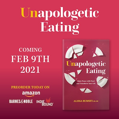 UNAPOLOGETIC EATING - pre-order homepage