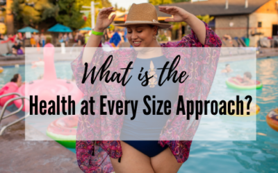 What is the Health at Every Size (HAES®) Approach?