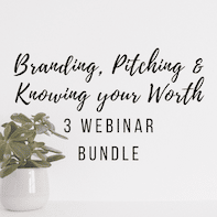Bundle of webinars for dietitian entrepreneurs