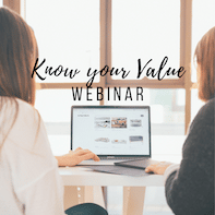 Know your value webinar for dietitian entrepreneurs