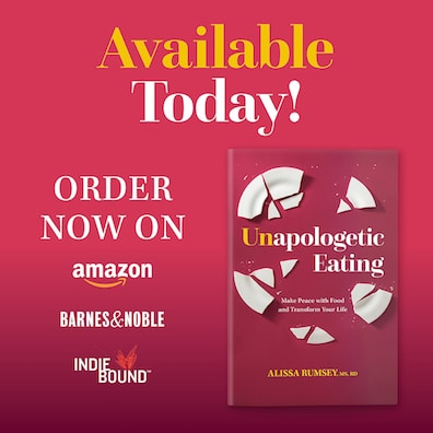 Unapologetic eating book - homepage graphic